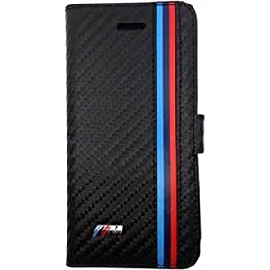 BMW Carbon Folio Case for Apple iPhone 5/5S Black - By Flipper