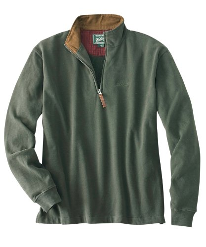 Men's Meridian Zip Neck Pullover