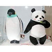 しろくまカフェ スーパーDXぬいぐるみ〜カフェ仲間編〜 パンダ・ペンギン 全2種セット