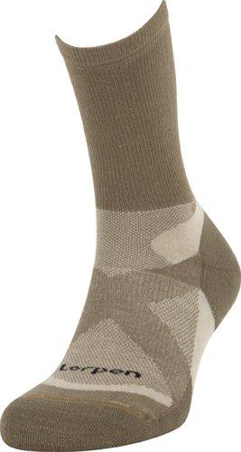 Lorpen Men'S Trilayer Light Hiker Socks, Green, Large
