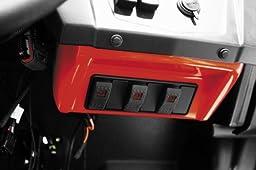 Dragonfire Racing Switch Pod Kit White for Polaris RZR All