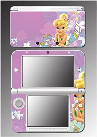 Tinkerbell Princess Fairy Pixie Tinker Bell Video Game Vinyl Decal Cover Skin Protector 10 for Nintendo 3DS XL