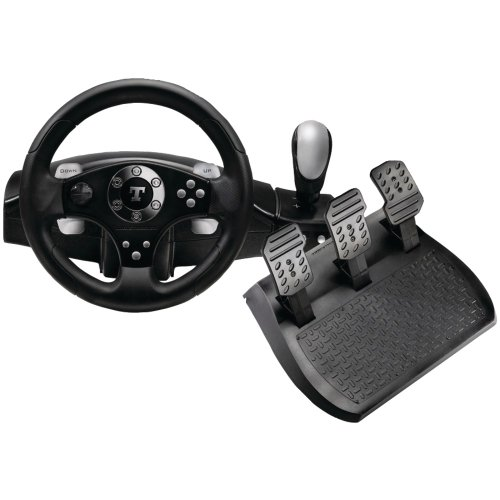 New Thrustmaster 2960715 Rgt Force Feedback Racing Wheel Oversized Rubber-Textured Wheel