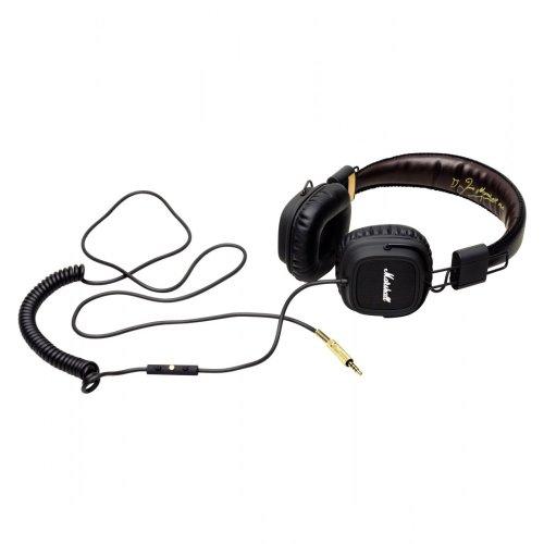 Marshall Major Fx On-Ear Headphones 121 Db 3.5 / 6.35 Mm Jack Plug 1.2 M Black