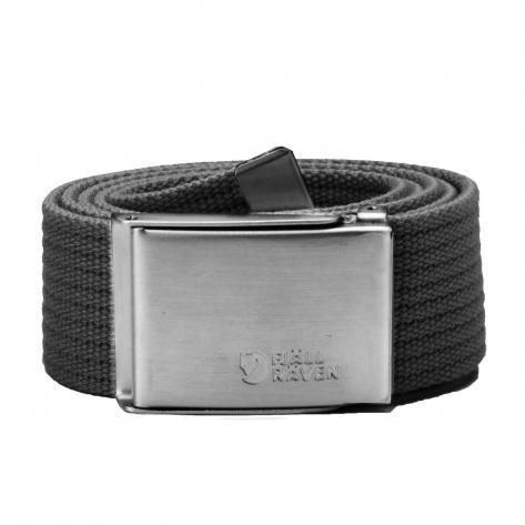 Fjällräven Gürtel Canvas Belt dark grey