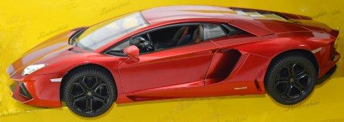 Lamborghini Playnation 114 RC Lamborghini Aventador Whiteredmetallic Black