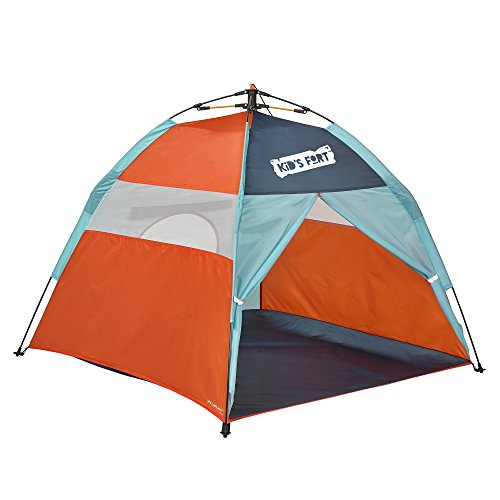 Best Review Of Lightspeed Outdoors Kids Fort Pop-Up Play Tent with Tunnel Entrance