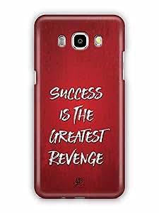 YuBingo Success is the Greatest Revenge Designer Mobile Case Back Cover for Samsung Galaxy J5 2016