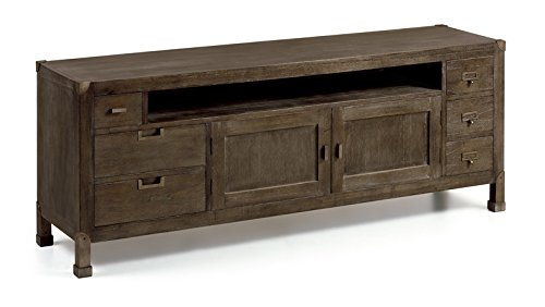 TV Table made of wood : Collection INDUSTRIAL