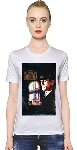 Once Upon A Time In America Noodles T-shirt donna Women T-Shirt Girl Ladies Stylish Fashion Fit Custom Apparel By Slick Stuff Medium