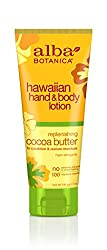 Alba Botanica Cocoa Butter Hand & Body Lotion 7 Ounce Bottle