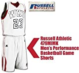 Russell Athletic 479MIMK Men's Performance Basketball Game Uniform (Blank Shorts) (Call 1-800-327-0074 to order)
