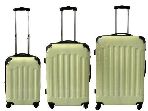 Polycarbonat Kofferset 3 tlg. in Beige