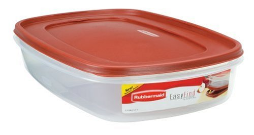 Rubbermaid 7J76 Easy Find Lid Rectangle 24-Cup
