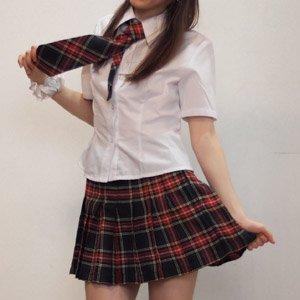 AKB風  Gチェック costume427 コスプレ コスチューム衣装 メイド AKBアキバ 女子高生 セーラー服 紺 4l