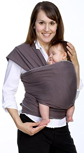 Best Deals! LIFETIME GUARANTEE - CuddleBug Baby Wrap Carrier - Grey Baby Wrap - Free Shipping - ALL ...