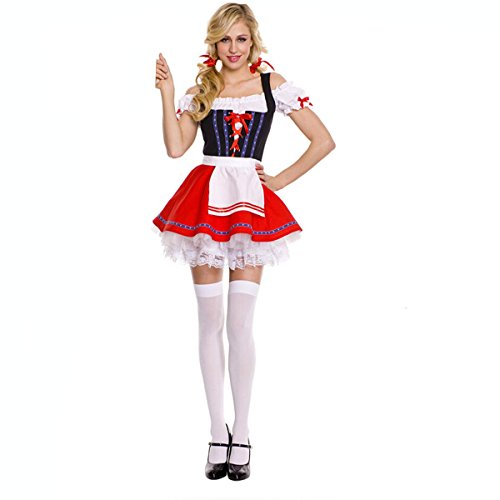 Lowestbest Sexy Beer Girl Cosplay Exotic Hallowen Costume Sweet Maid