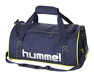 Hummel Uni Sporttasche Bee Authentic Sports Bags XS, marine / neon yellow, 40x20x23 cm, 18.4 liters, 40-843-7607