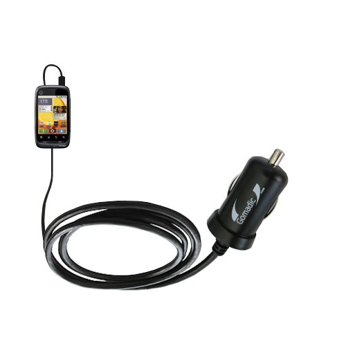 Mini 10W Car / Auto Dc Charger Designed For The Motorola Citrus With Gomadic Brand Power Sleep Technology - Designed To Last With Tipexchange Technology