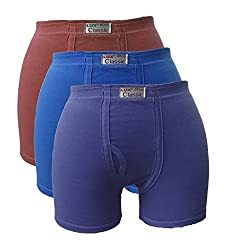 Lux Classic Men's Cotton Trunk (Pack of 3)