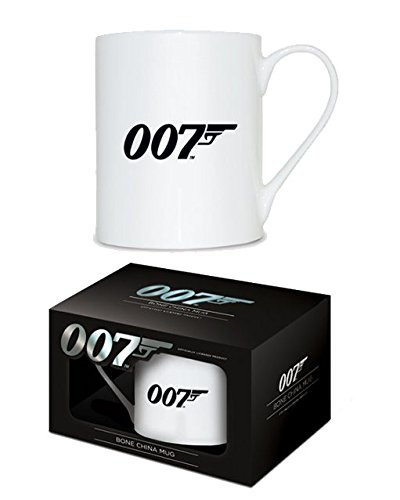 Pyramid International mgbc23559 James Bond (007 Logo) Tazza in porcellana in ceramica, Multicolore, 12,5 x 8,5 x 9 cm