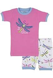 Hatley Little Girls' Short Dragonflies Pajama Set
