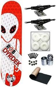 Alien Workshop Dyrdek Soldier W/ Silver Trucks Complete Skateboard