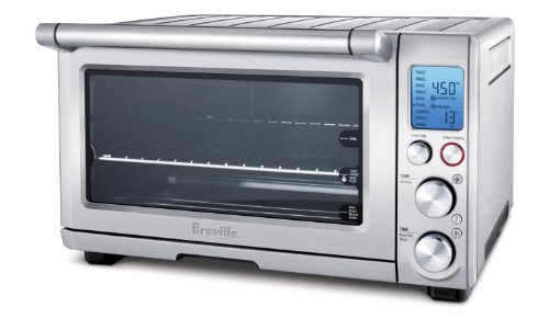 Breville BOV800XL Smart Oven 1800-Watt Convection Toaster Oven with Element IQ (Compact Toaster Oven Broiler compare prices)