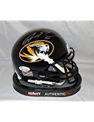 Justin Smith Autographed Missouri Tigers Mini Helmet- W Authenticated - JSA Certified - Autographed College Mini Helmets discount 2015
