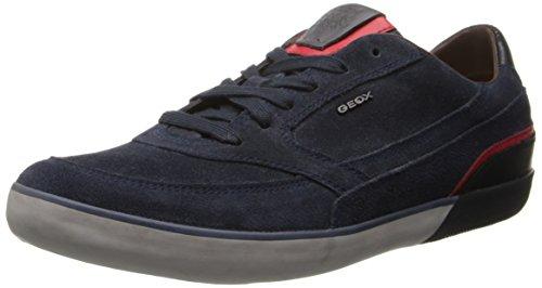 Geox U BOX, Sneaker uomo, Blau (DK NAVYC4021), 43