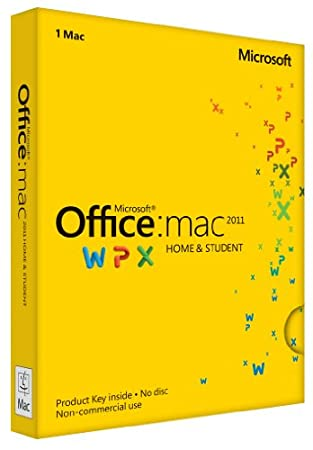 Office Mac Home &#038; Student 2011 Key Card (1PC/1User)