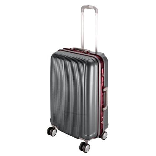 キャプテンスタッグ(CAPTAIN STAG) グレル トラベルスーツケース TSAロック付きHFタイプ S スチールグレー UV-9