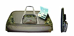 Tarantula Single Bow Case with Tackle Box Stone (Camo Mixed Color) by Sportsan