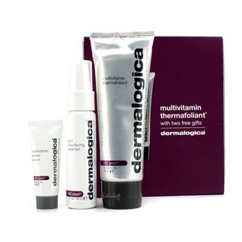 Smooth And Firm Set: Multivitamin Thermafoliant 75Ml + Skin Resurfacing Cleanser 30Ml + Multivitamin Power Serum 7Ml - 3