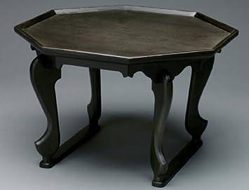 Octagonal Tiger Leg Handmade Natural Wood Sofa Coffee Table Tea Serving Tray