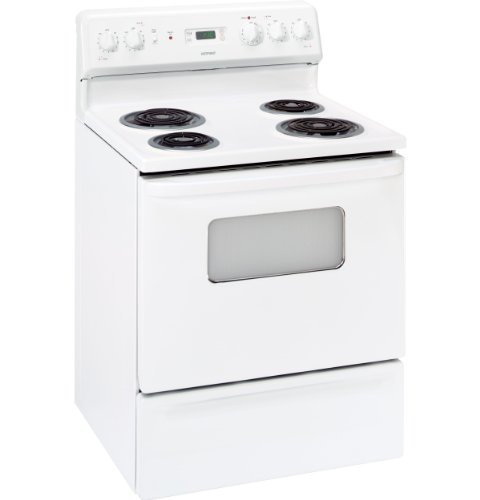 """Hotpoint Rb526Dpww 30"""" White Electric Coil Range front-444977"""