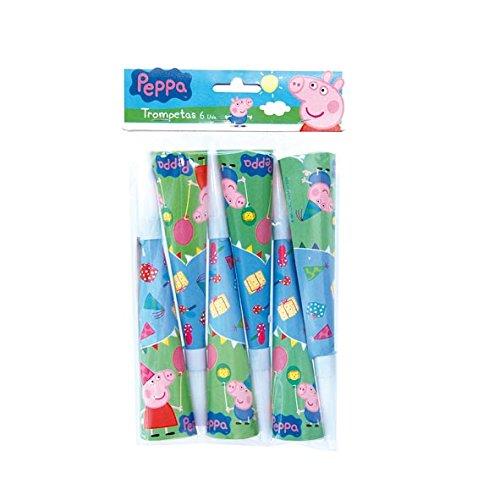 Peppa Pig - 6 trompetas (Verbetena 016000788)