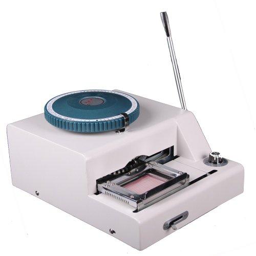 Generic Professional 72 Character Id PVC Credit Card Embosser Embossing Machine Membership Manual Indenting Printing