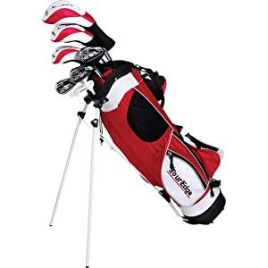 Ht Max-J Junior Boys Golf Sets Ages 9-12 3 Wds 3 Irns Putter Bag by Tour Edge