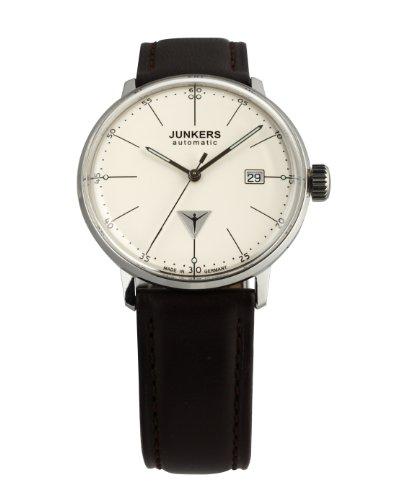 Junkers Herren-Armbanduhr XL Bauhaus Analog Automatik Leder 60505 2