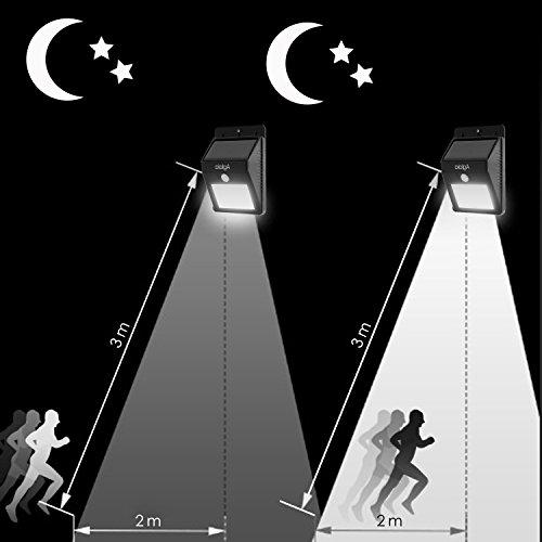 Aglaia lampada led solare da esterno con 8 lampadine for Lampadine led e27 da esterno