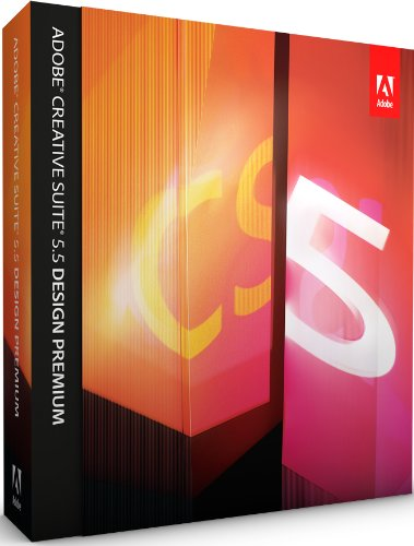 Adobe Creative Suite 5.5 Design Premium, Upgrade version from any CS 2/3 suite, Studio 8, Production Studio (Mac)