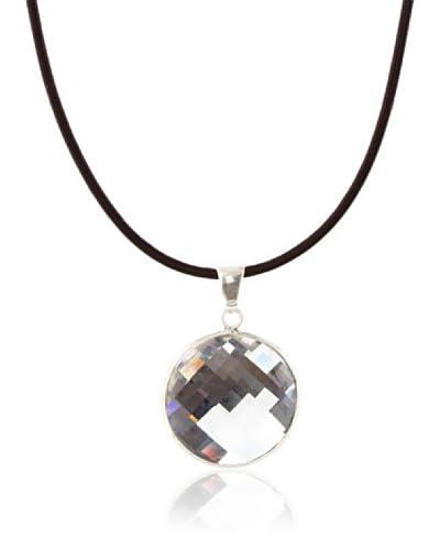 Silver One Collar Gran Swarovski Cristal