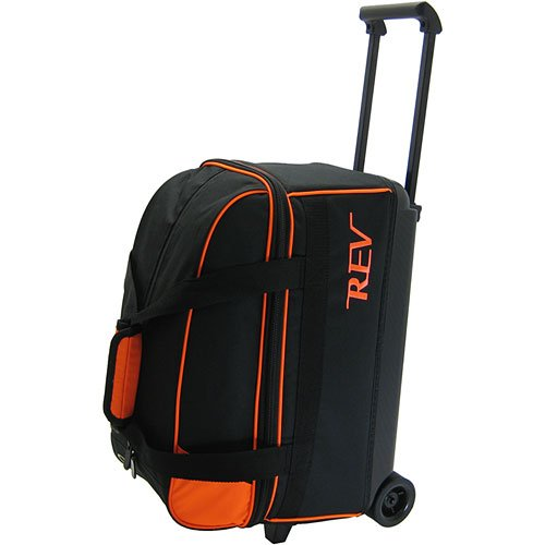 Rev Double Roller Orange Glow Bowling Bag