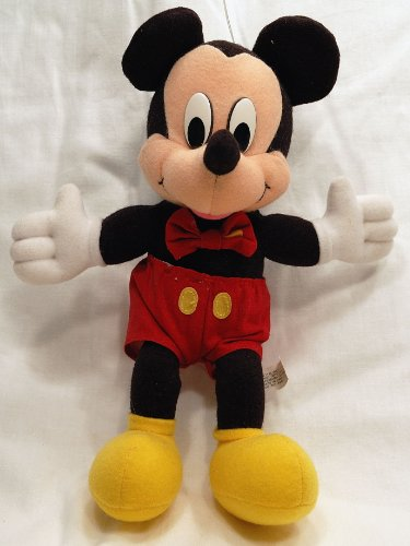Disney Mickey Mouse Stuffed Animal Plush Toy Doll - Collectible- 10 inches tall