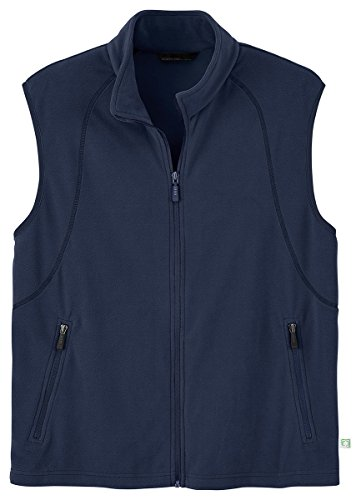 Ash City Mens Recycled Fleece Full-Zip Vest_Night_XXL