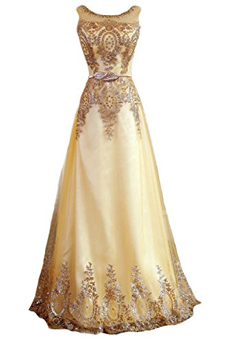 fanhao-womens-sequined-plume-belt-lace-up-gold-long-prom-bridesmaid-dressl
