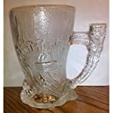 Flintstones Mammoth Clear Mug Cup Mcdonalds 1993 Made in France