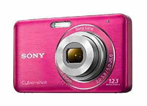 Sony DSC-W310 12.1MP Digital Camera with 4x Wide Angle Zoom with Digital Steady Shot Image Stabilization and 2.7 inch LCD (Pink)