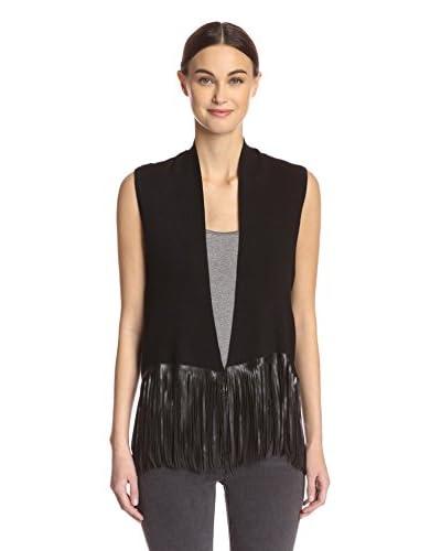 Central Park West Women's Fringe Vest